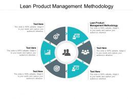 Lean Product Management Methodology Ppt Powerpoint Presentation File Slide Download Cpb