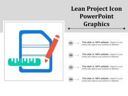 Lean Project Icon Powerpoint Graphics