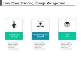 Lean Project Planning Change Management Process Rational Comprehensive Model Cpb
