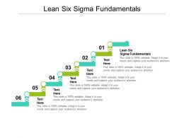 Lean Six Sigma Fundamentals Ppt Powerpoint Presentation Layouts Example Topics Cpb