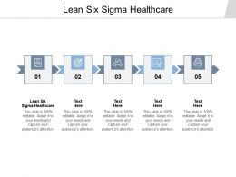 Lean Six Sigma Healthcare Ppt Powerpoint Presentation Model Inspiration Cpb