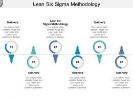 Lean Six Sigma Methodology Ppt Powerpoint Presentation Model Slideshow Cpb