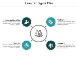 Lean Six Sigma Plan Ppt Powerpoint Presentation Portfolio Designs Download Cpb