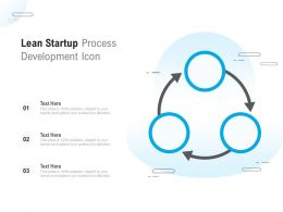 Lean Startup Process Development Icon