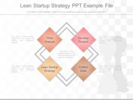Lean Startup Strategy Ppt Example File