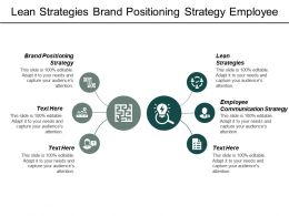 Lean Strategies Brand Positioning Strategy Employee Communication Strategy Cpb