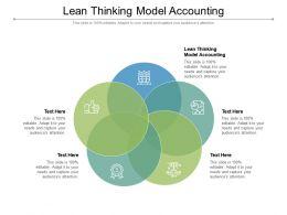Lean Thinking Model Accounting Ppt Powerpoint Presentation Portfolio Styles Cpb