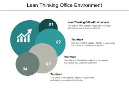 Lean Thinking Office Environment Ppt Powerpoint Presentation Pictures Example Cpb