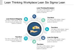 Lean Thinking Workplace Lean Six Sigma Lean Network Mapping Cpb
