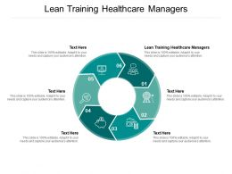Lean Training Healthcare Managers Ppt Powerpoint Presentation Professional Format Ideas Cpb