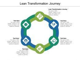 Lean Transformation Journey Ppt Powerpoint Presentation Portfolio Show Cpb