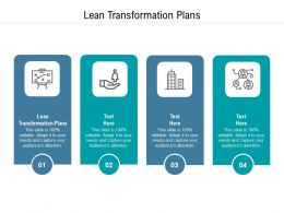Lean Transformation Plans Ppt Powerpoint Presentation Styles Graphics Example Cpb