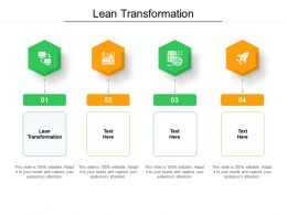 Lean Transformation Ppt Powerpoint Presentation Pictures Graphic Images Cpb