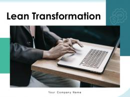Lean Transformation Strategy Organization Success Framework Performance