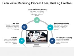 Lean Value Marketing Process Lean Thinking Creative Business Process Cpb