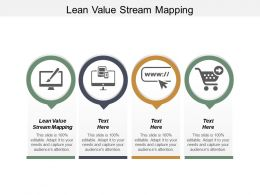 Lean Value Stream Mapping Ppt Powerpoint Presentation Infographic Template Professional Cpb