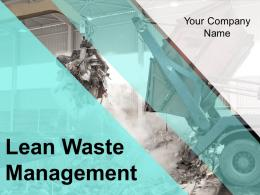 Lean Waste Management Powerpoint Presentation Slides