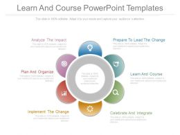 Learn And Course Powerpoint Templates