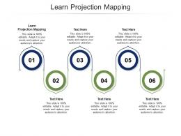 Learn Projection Mapping Ppt Powerpoint Presentation Layouts Slide Cpb