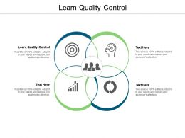 Learn Quality Control Ppt Powerpoint Presentation Infographic Template Structure Cpb