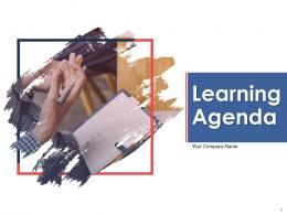 Learning Agenda High Level Management Seminars