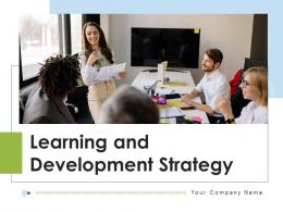 Learning And Development Strategy Commitment Educational Resources Components Business