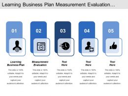 Learning Business Plan Measurement Evaluation Social Informal Learning