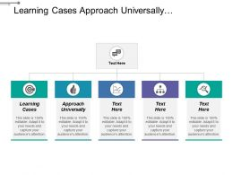 Learning Cases Approach Universally Consequently Description Manager Decision