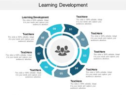 Learning Development Ppt Powerpoint Presentation Gallery Aids Cpb
