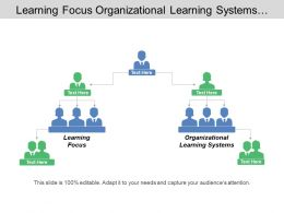 Learning Focus Organizational Learning Systems Systems Perspective Employee Satisfaction