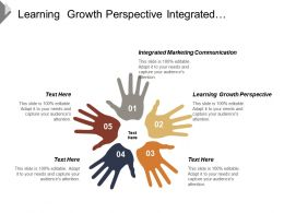 Learning Growth Perspective Integrated Marketing Communication Personal Selling