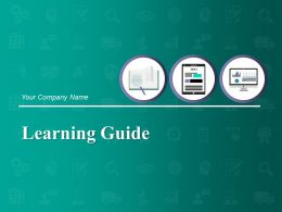 Learning Guide Powerpoint Presentation Slides