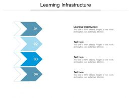 Learning Infrastructure Ppt Powerpoint Presentation Ideas Grid Cpb