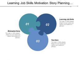 Learning Job Skills Motivation Story Planning Succession Advantages Collaboration Cpb