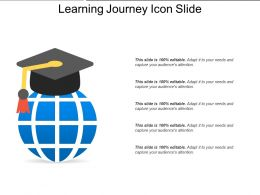 Learning Journey Icon Slide
