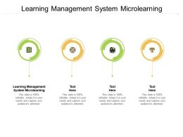 Learning Management System Microlearning Ppt Powerpoint Template Cpb
