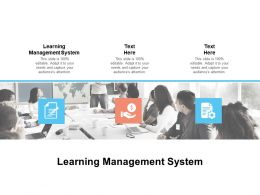 Learning Management System Ppt Powerpoint Presentation Visuals Cpb