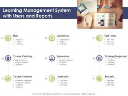 Learning Management System With Users And Reports