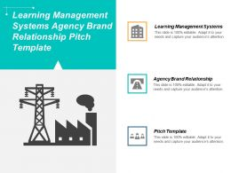 Learning Management Systems Agency Brand Relationship Pitch Template Cpb