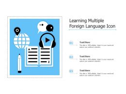 Learning Multiple Foreign Language Icon