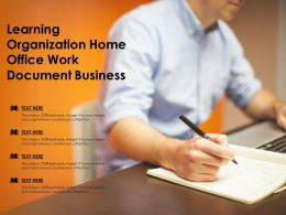 Learning Organization Home Office Work Document Business