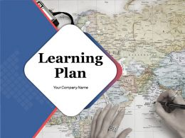 Learning Plan Powerpoint Presentation Slides