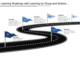 Learning Roadmap With Learning By Group And Actions To Reach Goals