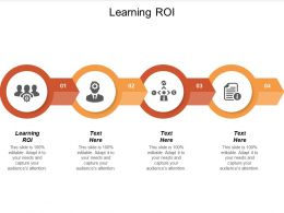 Learning Roi Ppt Powerpoint Presentation Ideas Guide Cpb