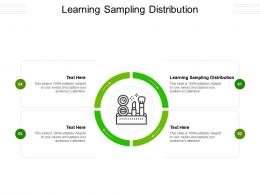 Learning Sampling Distribution Ppt Powerpoint Presentation Slides Show Cpb