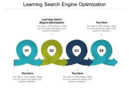 Learning Search Engine Optimization Ppt Powerpoint Presentation Professional Visual Cpb