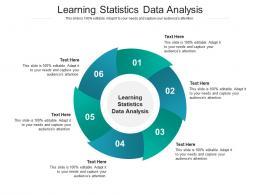 Learning Statistics Data Analysis Ppt Powerpoint Presentation Slides Sample Cpb
