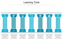 Learning Tools Ppt Powerpoint Presentation Professional Aids Cpb