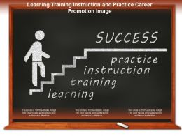Learning Training Instruction And Practice Career Promotion Image