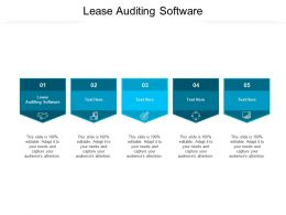 Lease Auditing Software Ppt Powerpoint Presentation Model Graphics Template Cpb